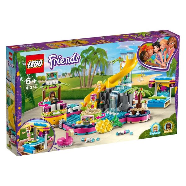 LEGO Friends, Andreas poolparty 41374-0