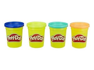 Play-Doh, Classic Colours, 4-pack, Wild-0