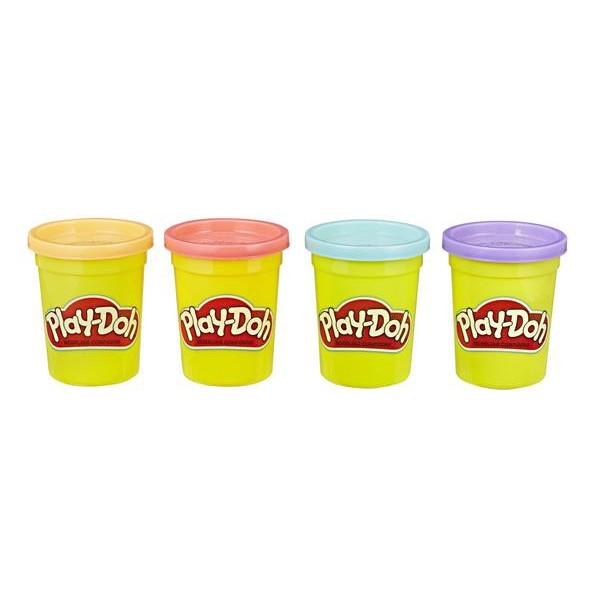 Play-Doh, Classic Colours, 4-pack, Sweet-0