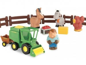 John Deere, 1st Farming Fun, Harvest Time Playset-0