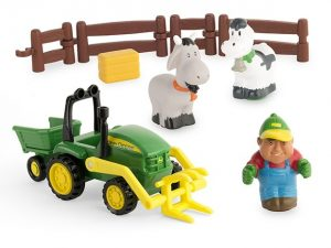 John Deere, 1st Farming Fun, Load-Up Playset-0