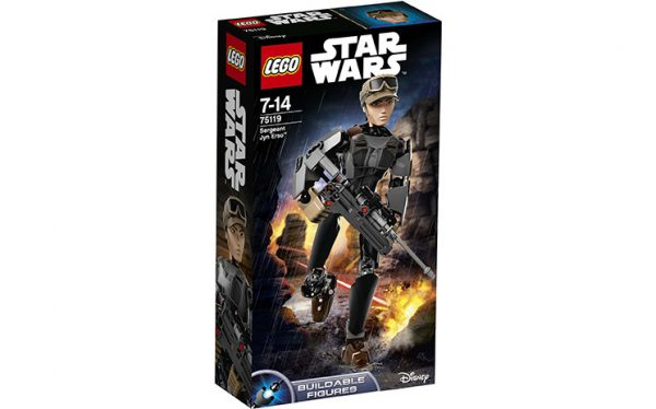 LEGO Constraction Star Wars, Sergeant Jyn Erso 75119-0