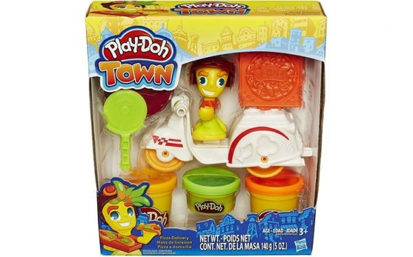 Play-Doh, Town minifordonsset, Pizza delivery-0